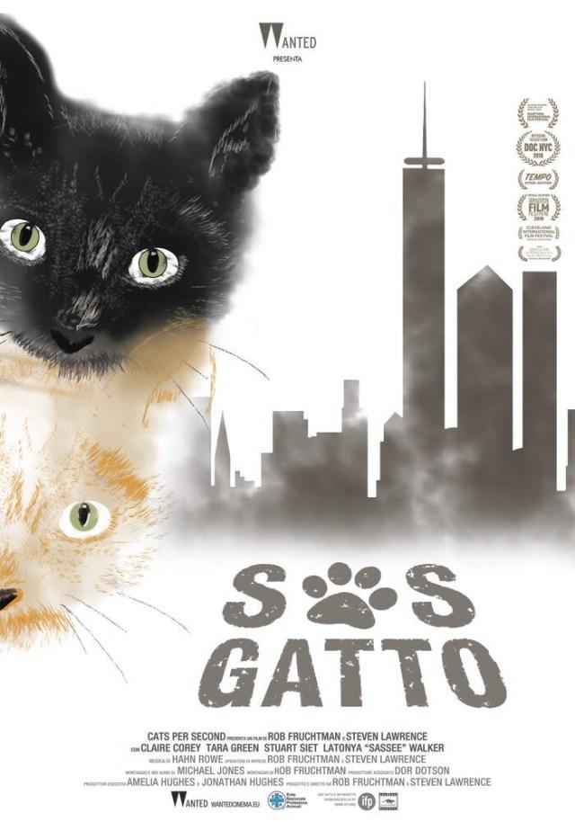 S.O.S. gatto poster locandina