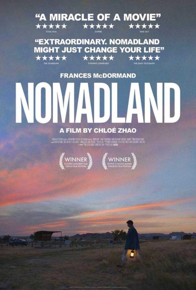 Nomadland poster locandina