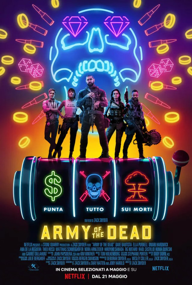 Army of the Dead poster locandina