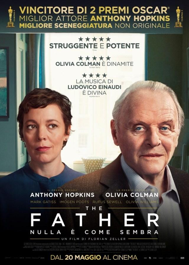 The Father - Nulla è come sembra poster locandina