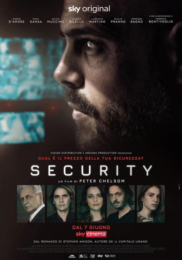 Security (2021) poster locandina