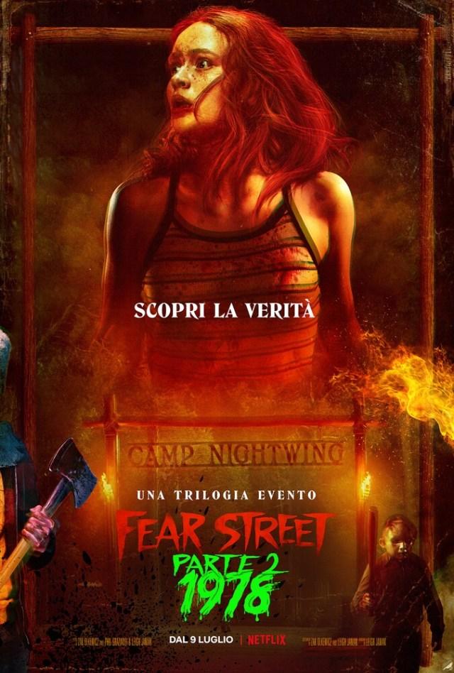 Fear Street Parte 2: 1978 poster locandina