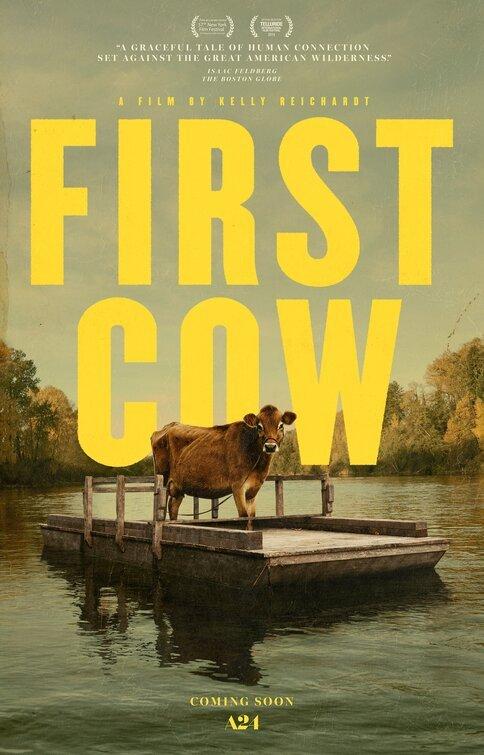 First Cow poster locandina