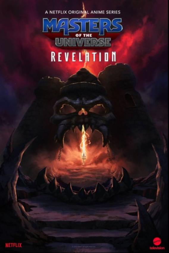Masters of the Universe: Revelation - Parte 1 poster locandina