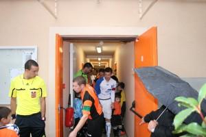 Séniors A contre Auxerre