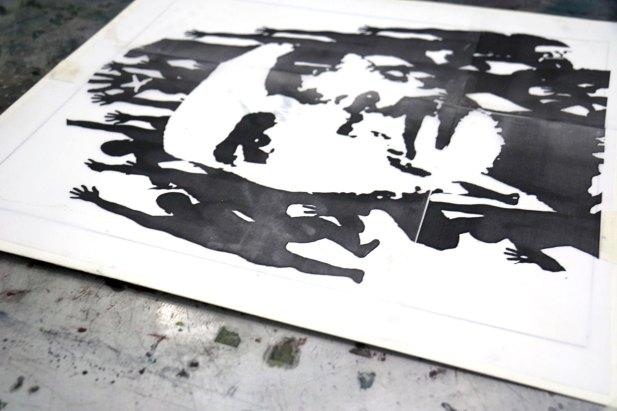 DIARIOS VIII/X - Evolucion - Screen printing - Detail - (Ascanio Cuba)
