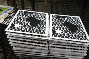 DIARIOS IX/X - Sur America - Screen printing - Detail - (Ascanio Cuba)