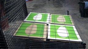 DIARIOS III/X - Boina - Screen printing - Detail - (Ascanio Cuba)