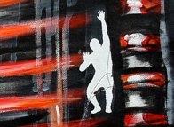 FIELD CENTER - Mix on canvas - Detail (Ascanio Cuba)