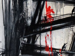 PROYECCIÓN A LO IMAGINARIO - Mix on canvas - Detail - (Ascanio Cuba)