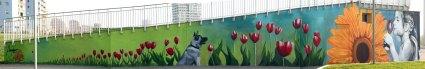 PARTECIPATED ART AT FRANCA RAME PARK - Murales - Detail - (Ascanio Cuba)