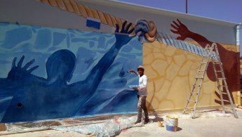 FUTURE AND LIFE - Murales - Detail - (Ascanio Cuba)
