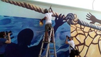 FUTURE AND LIFE - Murales - Detail - (Ascanio Cuba)