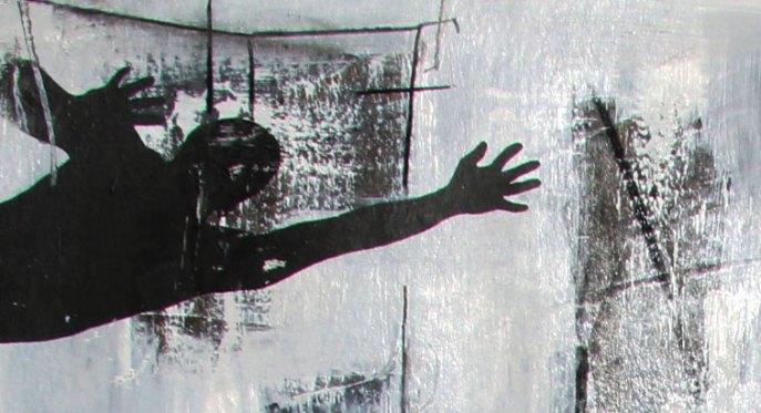 DISCOVERY - Mix on cardboard - (Ascanio Cuba)