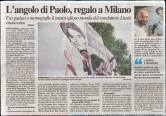 L'ANGOLO DI PAOLO LIMITI - - News - (Ascanio Cuba)