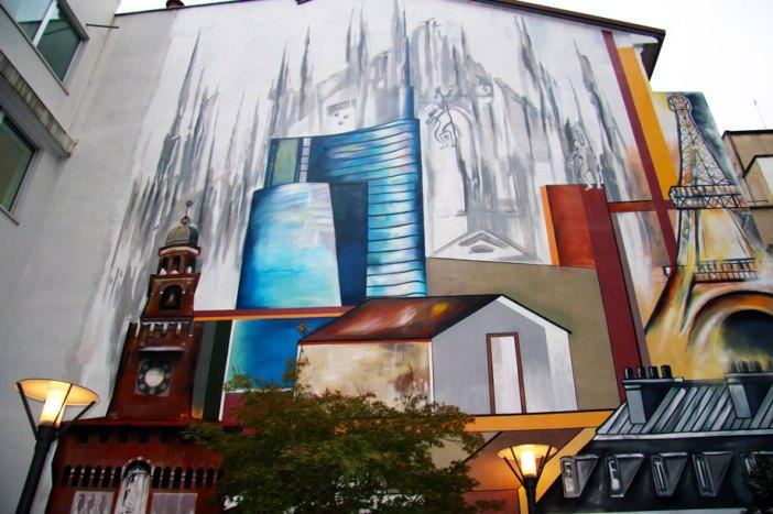 MURALES | Milano per CNP Vita