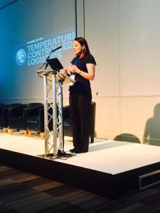 Amy Shortman ASC CEO Chairwoman of IQPC Temperature Controlled Logistics Conference 2017