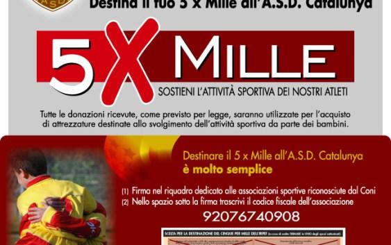 Il tuo 5xMille al Catalunya