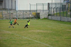 uno dei gol di Fabrizio Peretto