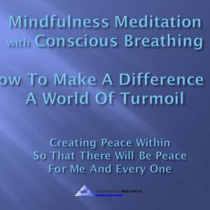 Mindfulness Meditation-How To Make A Difference@0217