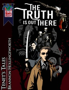 "Book cover for ""The Truth Is Out There"""