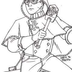 Signalman aka Jamison Doyle, hero of the Martian War in Ascension Epoch.