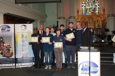 Congratulations to our newly graduated Sutton Street Pastors