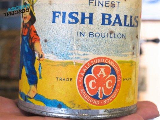 Ancient Lyngen fish balls