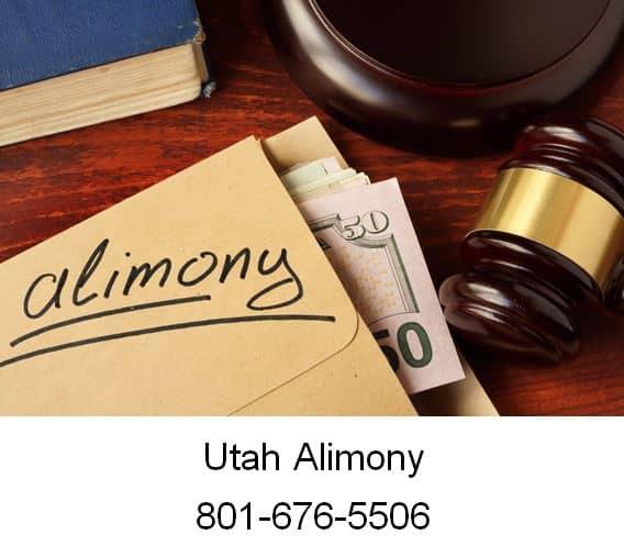 utah alimony