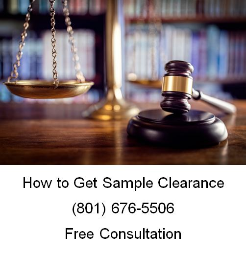 how to get sample clearance