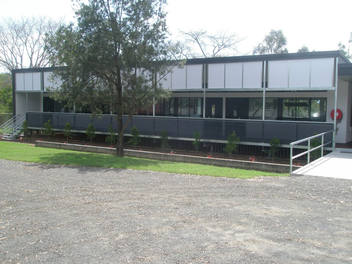 Ipswich State High School New Classrooms Ascent Building