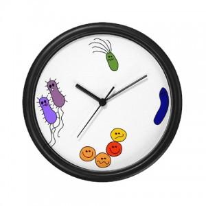 Bacteria clock