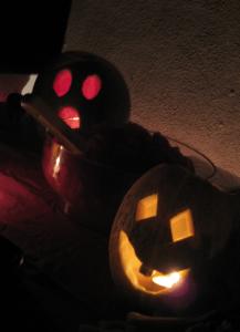 Jack o Lanterns Melon Style