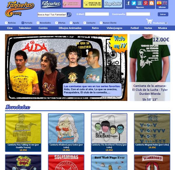 Fanisetas.Com - Oscommerce