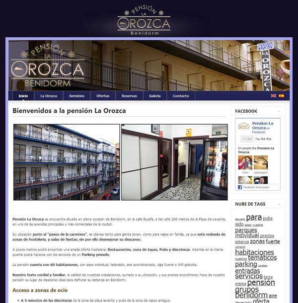 Pensión La Orozca Benidorm - Joomla
