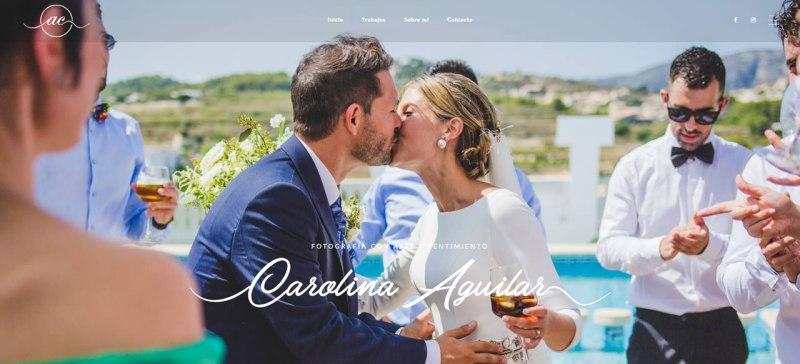 Carolina Aguilar. Fotografía Parejas, bodas, infantil, premamá, personal, lifestyle. Benidorm