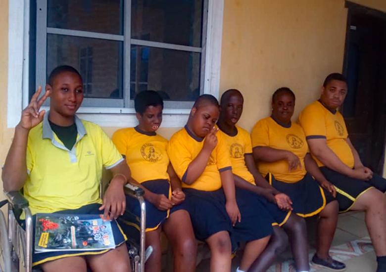 I ragazzi del Centro di Owerri