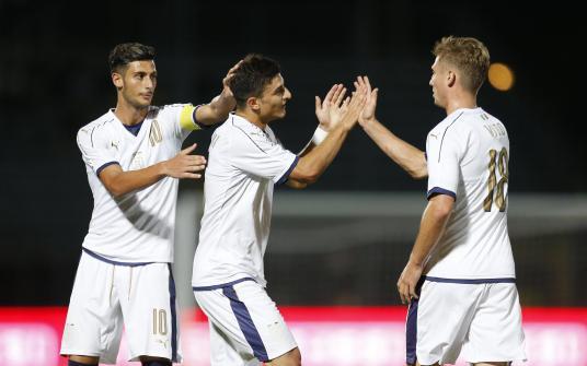 Under 21 - Italia vs Slovenia - partita amichevole