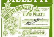 Una vecchia pubblicità dell'anisetta di Meletti