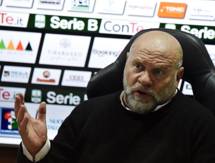 Serse Cosmi, foto da pagina ufficiale Ascoli Picchio