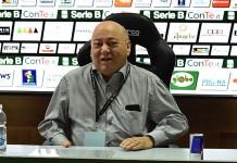 Ascoli Picchio News: il presidente dell'Ascoli Francesco Bellini