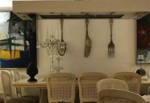Una delle sale de Il Desco, ristorante di Ascoli Piceno