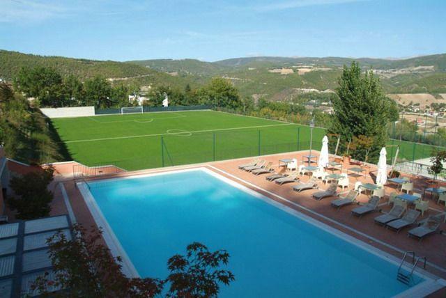 La Reggia Sporting Center di Cascia, dove andrà il ritiro l'Ascoli Picchio