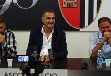 Adriano Tesoro, Vincenzo Vivarini e Giuliano Tosti, Ascoli Calcio