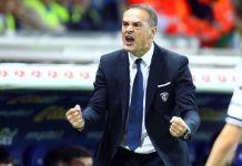 L'allenatore Vincenzo Vivarini