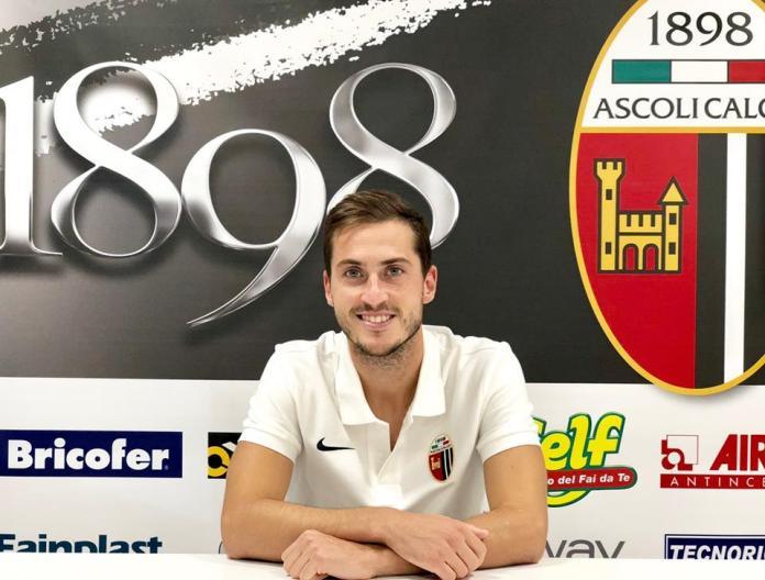 Simoneandrea Ganz, foto da pagina Facebook ufficiale Ascoli Calcio