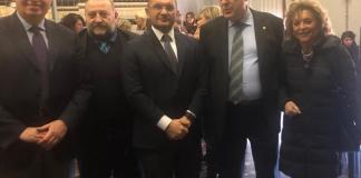 La delegazione di Ascoli a Roma
