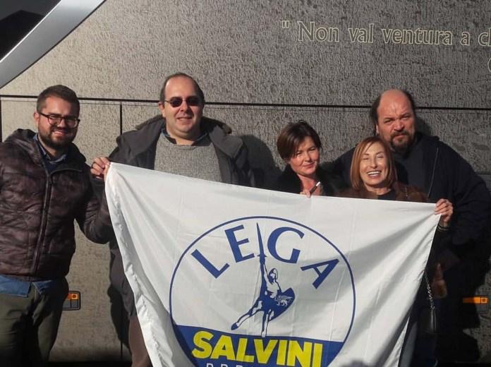 I militanti della Lega di Grottammare, foto da Lega