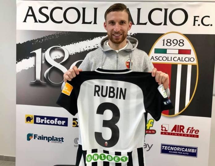 Matteo Rubin, Ascoli Calcio