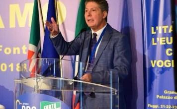 Il commissario di Forza Italia Marcello Fiori, foto da ufficio stampa